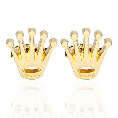 Butoni Βασικό Μοντέρνα Καρφίτσα Κοσμήματα Χρυσαφί Για Καθημερινά Επίσημο