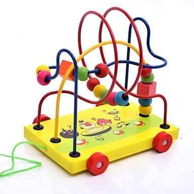 levne 3D puzzle-Dřevěné puzzle Klasický motiv Interakce rodič-dítě Dřevěný Dětské Chlapecké Dívčí Hračky Dárek