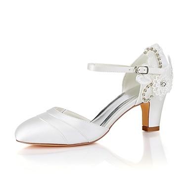 Pentru Femei Satin Elastic Primăvară Vară Balerini Basic Pantofi