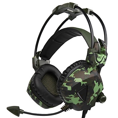 SADES SA-917 Ακουστικά τυχερού παιχνιδιού Ενσύρματη Ηλεκτρονικό Παιχνίδι Με Μικρόφωνο