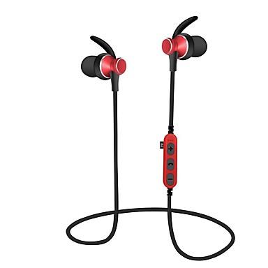 MS-T4 Ακουστικά με λαιμό Ασύρματη Αθλητισμός & Fitness Bluetooth 4.2 Με Μικρόφωνο Με Έλεγχος έντασης ήχου