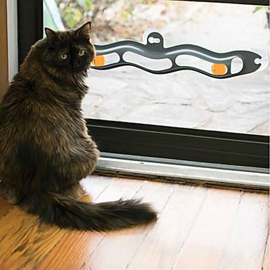 Treinamento Interativo Gato Gatinho Animais de Estimação Brinquedos Assenta Relaxadamente Amigo de Animal de Estimação Plástico Dom