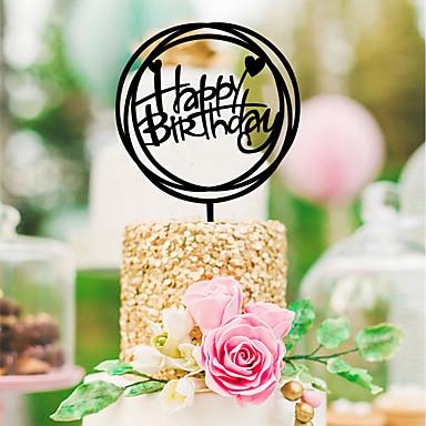 levne Party doplňky-Svatební / Narozeniny Akrylát Svatební dekorace Klasický motiv Celý rok
