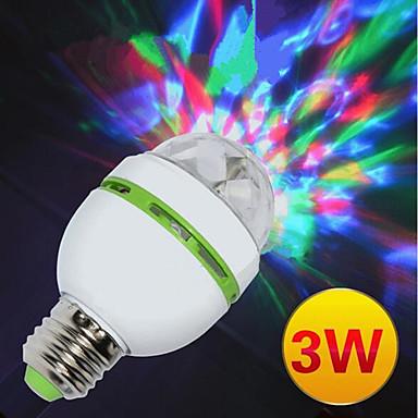 Φώτα Σκηνής LED Φώτα PAR LED Auto 3 για Γενέθλια Σκηνή Πάρτι Φορητά Πολυλειτουργία Ελαφριά Υψηλή ποιότητα