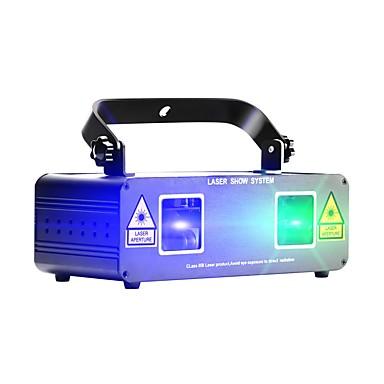 U'King Λέιζερ Φως Σκηνής DMX 512 / Master-Slave / Ενεργοποίηση με  Ήχο για Πάρτι / Σκηνή / Μπαρ Επαγγελματικό / Ανθεκτικό
