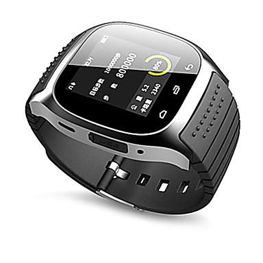 levne Dámské-Pro páry Sportovní hodinky Square Watch Automatické natahování Silikon Černá Bluetooth Dálkový ovladač Krokoměry Analog - Digitál Luxus Na běžné nošení Módní - Bílá Černá Modrá / Stopky