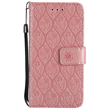 tok Για LG K8 / LG / LG K7 LG X Power / LG V20 / LG V10 Πορτοφόλι / Θήκη καρτών / με βάση στήριξης Πλήρης Θήκη Λουλούδι Σκληρή PU δέρμα / LG G6 / LG K10