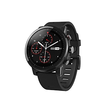 "Xiaomi Huami Amaz Amaz 2 Smartwatch GPS হার্ট রেট মনিটর 512MB / 2GB ওয়াটারপ্রুফ 1.34 ""2.5D স্ক্রিন স্পোর্টস ওয়াচ চিশি সংস্করণ"