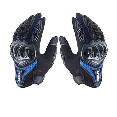 povoljno Motori i quadovi-muške rukavice s mikrovlakana teško koljenica vodootporan prozračan powersports motocikl sve-prst rukavica zaslon osjetljiv na dodir