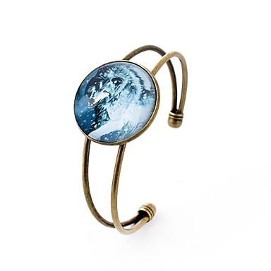 Χειροπέδες Βραχιόλια κυρίες Γκόθικ Γυαλί Βραχιόλι Κοσμήματα Ουράνιο Τόξο Για Πάρτι Καθημερινά