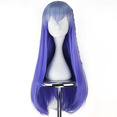 Περούκες για Στολές Ηρώων Γυναικεία 30 inch Ίνα Ανθεκτική στη Ζέστη Μπλε Anime / Princess Lolita