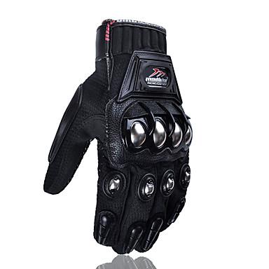 billige Motorsykkel & ATV tilbehør-Madbike Mad-10c legeringsstål motorsykkel hansker racing motorsykkel beskyttende hansker berøringsskjerm