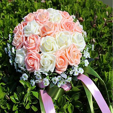Λουλούδια Γάμου Μπουκέτα / Μοναδική γαμήλια διακόσμηση / Άλλα Γάμου / Πάρτι / Βράδυ / Χοροεσπερίδα Υλικό 0-10 εκ / 0-20 ίντσες