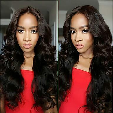 6 πακέτα Περουβιανή Κυματομορφή Σώματος Αγνή Τρίχα Υφάνσεις ανθρώπινα μαλλιών Υφάνσεις ανθρώπινα μαλλιών Επεκτάσεις ανθρώπινα μαλλιών / 10A