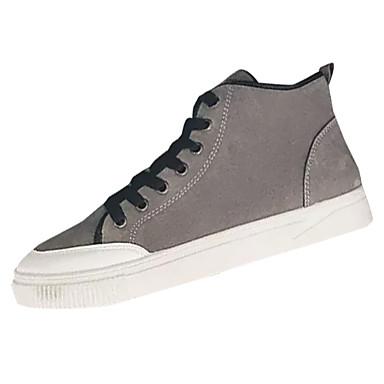 Férfi cipő Nubuk bőr Tavasz Ősz Kényelmes Tornacipők mert Hétköznapi Fekete  Szürke Sárga 6551162 2019 –  26.99 9f7e2f6667