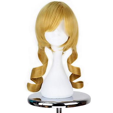 Cosplay Wigs Puella Magi Madoka Magica Tomoe Mami Golden Anime Cosplay Wigs  18 inch Heat Resistant Fiber Men s Women s Halloween Wigs 6555152 2019 –   24.99 e62dde772