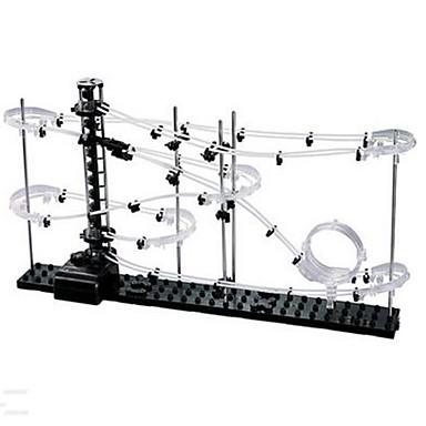 Spacerail III Level 2 Pistas para Bolinhas de Gude Pista para Bolinha de Gude Retangular Céu Estrelado e Galáxias Brinquedo foco Teste