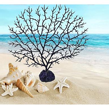 Ενυδρείο ψαριών Διακόσμηση Ενυδρείου Στολίδια Φυτά Τυχαίο Χρώμα Τεχνητά Διακοσμητικό PVC (πολυβινυλοχλωρίδιο) 1 16*16 cm