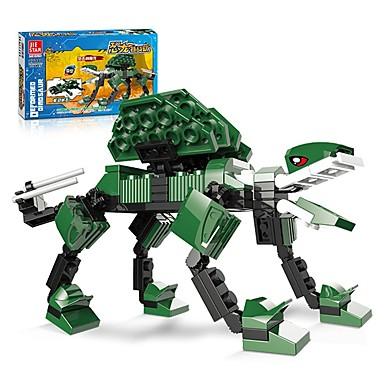Blocos de Construir Conjunto de construção de brinquedos Brinquedo Educativo 107 pcs Dinossauro Animal compatível Legoing Anime Desenho Todos Para Meninos Para Meninas Brinquedos Dom