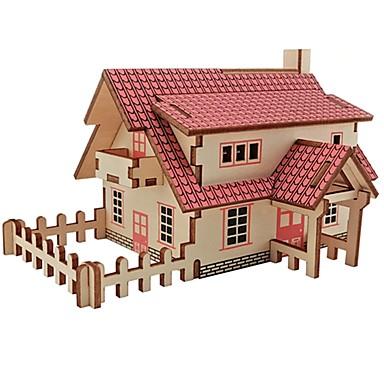 Quebra-Cabeças de Madeira Brinquedos de Lógica & Quebra-Cabeças Arquitetura Moda Clássico Moda Novo Design Nível Profissional Brinquedo