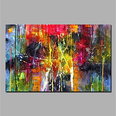 Oil Painting Hand Painted Abstract Wall Painting Rolled Canvas Home Decoration
