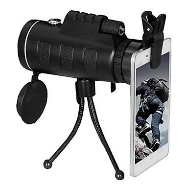 PANDA 10 X 40 mm Μονόφθαλμο Φακοί Νυχτερινό όραμα σε χαμηλό φωτισμό Φακός με Βάση Εύκολο στη μεταφορά BAK4 Κατασκήνωση & Πεζοπορία Κυνήγι Ψάρεμα Σύνθετα υλικά / Ναι / Παρακολούθηση Πουλιών