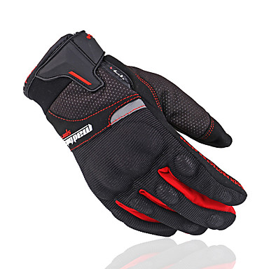 billige Motorsykkel & ATV tilbehør-Full Finger Unisex Motorsykkel hansker Nylon Pusteevne / Anvendelig / Antiskli
