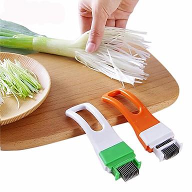 πράσινο κρεμμύδι κόφτη μαχαίρι τρίβει λαχανικό τσίλι τεμαχισμένο gadgets κουζίνα