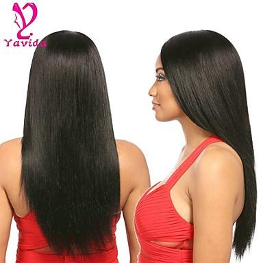 4 πακέτα Βραζιλιάνικη Ίσιο Αγνή Τρίχα Υφάνσεις ανθρώπινα μαλλιών Υφάνσεις ανθρώπινα μαλλιών 8α Επεκτάσεις ανθρώπινα μαλλιών / Ίσια