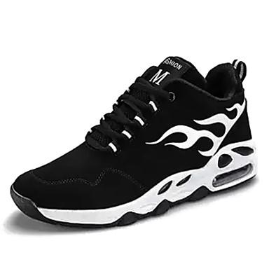 Hombre Zapatos Sintético Otoño / Invierno Confort Zapatillas de Atletismo Baloncesto Negro / Rojo / Azul 48u1C59OaQ