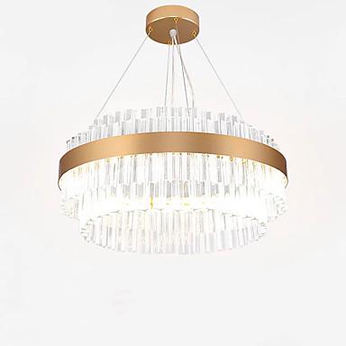 QIHengZhaoMing Πολυέλαιοι Ατμοσφαιρικός Φωτισμός Γαλβανισμένο Κρυστάλλινο Κρυστάλλινο, Προστασία ματιών 110-120 V / 220-240 V Θερμό Λευκό Περιλαμβάνεται η πηγή φωτός LED / Ενσωματωμένο LED