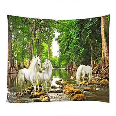 Hage Tema Dyr Veggdekor 100% Polyester Moderne Veggkunst, Veggtepper Dekorasjon