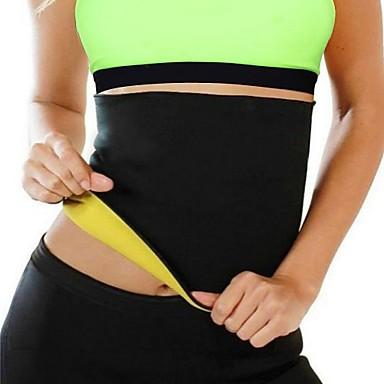 Stödförband för rygg för Fitness Löpning Herr Dam Smal Skyddande Andningsfunktion Stretch Kompression Enkel på- och avklädning Sport