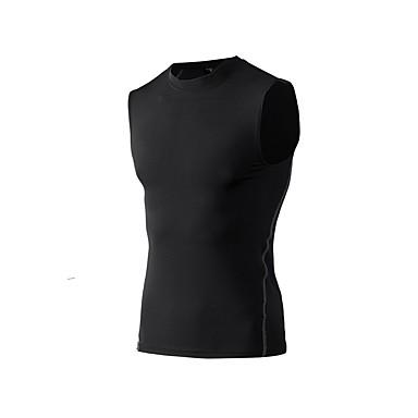 Ανδρικά Tricou Decupat Μονόχρωμο Φυσική Κάτάσταση Αμάνικη Μπλούζα Αμάνικο Ρούχα Γυμναστικής Ικανότητα να αναπνέει Ελαστικό