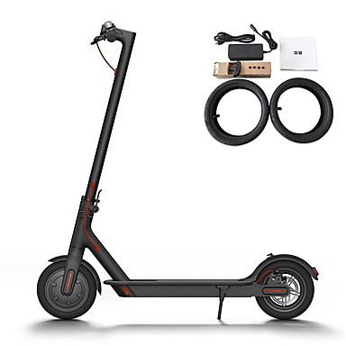 Xiaomi M365 Europe Version Electric Scooter Anti-slip 8.5 inch Aluminium Alloy 500*110mm 250 W Up To 30000 m And 25 km/h Lightweight, Portable Folding, APP Control White / Black
