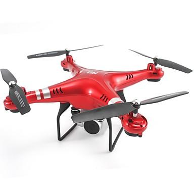 RC Ρομποτάκι SHR / C SH5H 4 Kανάλια 6 άξονα 2,4 G Με κάμερα HD 200W Ελικόπτερο RC με τέσσερις έλικες Auto-Απογείωση / Λειτουργία άμεσου ελέγχου / Πρόσβαση σε πραγματικό χρόνο μικρού μήκους