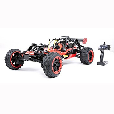 voordelige RC auto's-RC auto ROVAN 2.4G Rock Climbing Car / Off Road Car / Drift Car 1:5 Gas 40 km/h