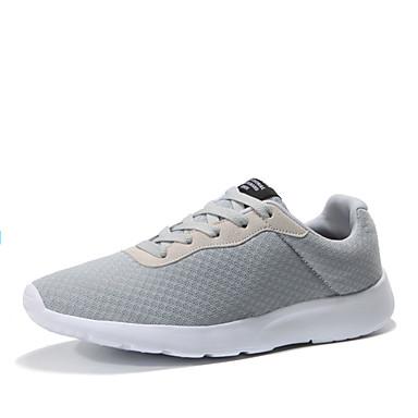 1b4b1bc9fb9 Ανδρικά Παπούτσια άνεσης Άνοιξη / Φθινόπωρο Αθλητικά Παπούτσια Περπάτημα  Μαύρο / Γκρίζο / Σκούρο μπλε / Κορδόνια 6328430 2019 – $26.99