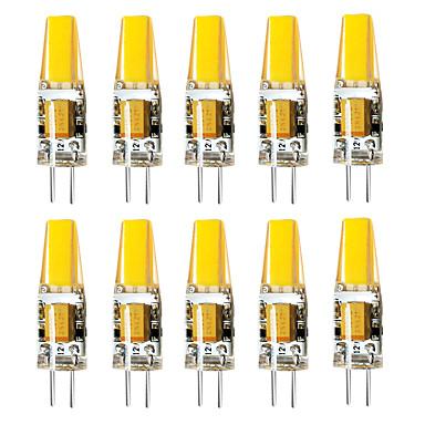 παράταση 10 τεμ. g4 3w 1μετ. φωτεινό καλαμπόκι φως ac12v λευκό / ζεστό λευκό