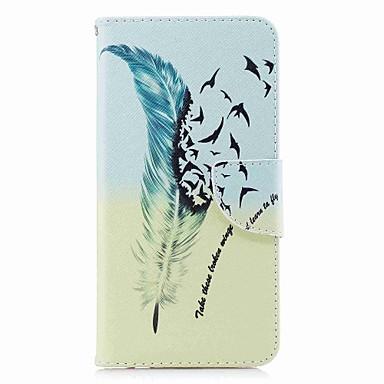 tok Για Huawei Mate 10 / Mate 10 lite / Huawei Mate 8 Πορτοφόλι / Θήκη καρτών / με βάση στήριξης Πλήρης Θήκη Φτερά Σκληρή PU δέρμα