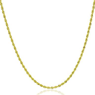 povoljno Modne ogrlice-Muškarci Žene Lančići Rock Moda Kamen Zlato Ogrlice Jewelry 1pc Za Dar Dnevno