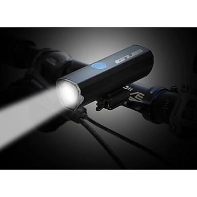 LED Φώτα Ποδηλάτου Φακοί LED Μπροστινό φως ποδηλάτου LED Ποδήλατο Ποδηλασία Αδιάβροχη Πολλαπλές λειτουργίες Super Bright Φορητά Μπαταρία λιθίου 300 lm Ενσωματωμένη μπαταρία Li-Battery / USB