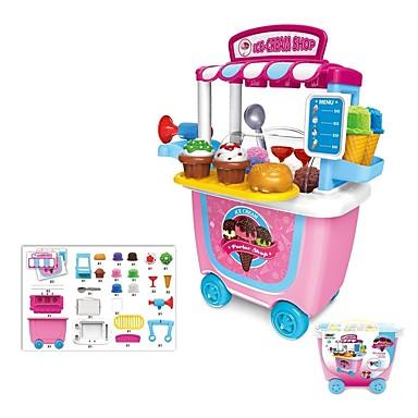 preiswerte Verkleidungen & Rollenspiele-Familie Eis Eltern-Kind-Interaktion Hochwertiger ABS-Kunststoff Kinder Baby Spielzeuge Geschenk 31 pcs