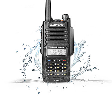 BAOFENG UV-9R Walkie Talkie Handheld Dual Band Waterproof Walkie Talkie Two Way Radio