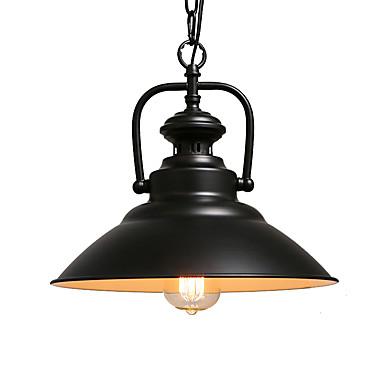Βόρεια Ευρώπη vintage βιομηχανία μαύρο μέταλλο κρεμαστό κόσμημα φωτιστικά τραπεζαρία τραπεζαρία φωτιστικό κουζίνα