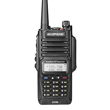 voordelige Walkie-talkies-Baofeng uv-9r handheld ip7 waterdichte dual band walkie talkie twee weg radio intercom breed bereik compatibele frequentie handheld dual band