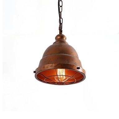 ย้อนยุคอุตสาหกรรมง่าย loft ไฟจี้โลหะห้องรับประทานอาหารห้องครัวบาร์คาเฟ่ทางเดินโคมไฟ