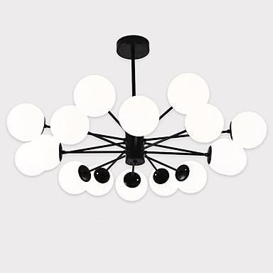 LightMyself™ Πολυέλαιοι / Κρεμαστά Φωτιστικά Ατμοσφαιρικός Φωτισμός Βαμμένα τελειώματα Μέταλλο Γυαλί Ματ 110-120 V / 220-240 V