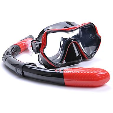 YON SUB Kit para Snorkeling Pacotes de Mergulho - Máscara de mergulho Snorkel - Anti-Nevoeiro Snorkel Seco Alça Ajustável Natação Mergulho Borracha Silicone  Para Adulto
