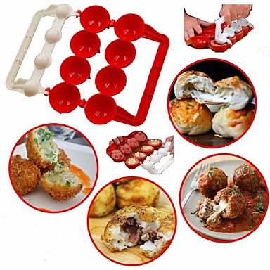 cheap Kitchen Utensils & Gadgets-Premiumbie Meatballs Maker Useful Pattie Meatball Fish Ball Burger Set DIY